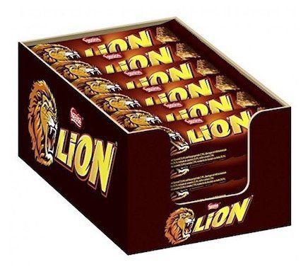 24er Pack Nestle Lion Schokoriegel für 8,99€