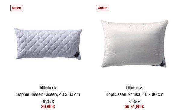 20% Rabatt auf Bettwaren, Matratzen und Rahmen bei Galeria Kaufhof