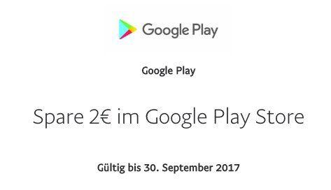 Gratis 2€ Guthaben für den Google Play Store dank Paypal