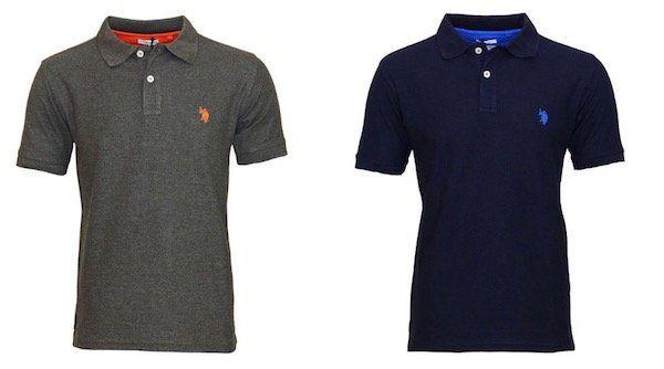 U.S. POLO ASSN. Herren Poloshirts neue Modelle statt 25€ für 19,99€   Langarm Polos für 24,99€