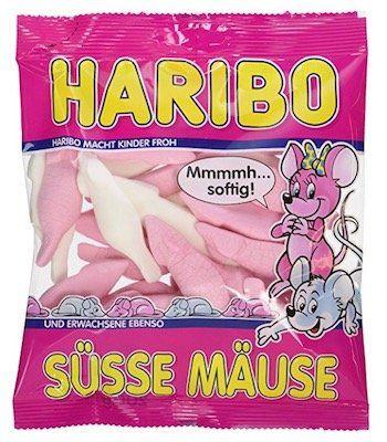 Vorbei! 20er Pack Haribo Süsse Mäuse für 6,99€