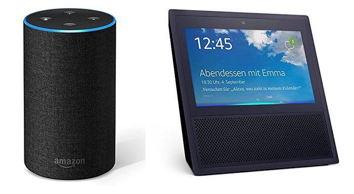 Rabatt beim Vorbestellen des neuen Amazon Echo (2. Generation) oder Echo Show