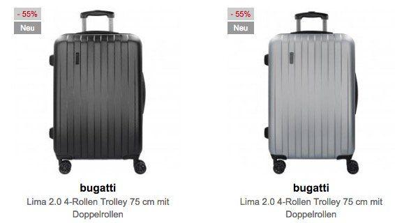 Koffer Arena Sale + 18% Gutschein   z.B. Titan Cody L Trolley für 90,16€ (statt 110€)