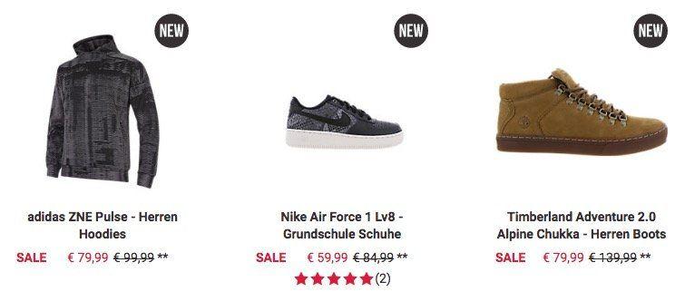 Letzter Tag! Foot Locker Sale mit sehr guten Preisen + 25% VIP Gutschein   z.B. Nike Air Max Zero für 57€ (statt 75€)