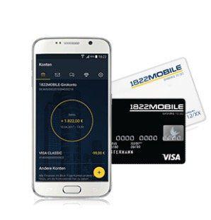 TOP! 1822Mobile   mobiles Girokonto + 50€ Startguthaben + JBL GO Musikbox