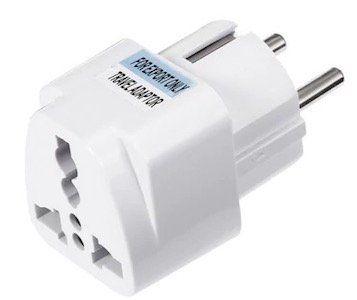 gocomma EU Stromadapter für 0,59€