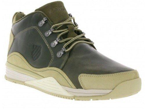 K Swiss Eaton P CMF Herren Echtleder Sneaker Boots für 34,99€ (statt 48€)