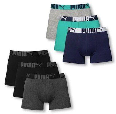 6er Pack Puma Promotion Boxershorts für 32,99€ (statt 37€)