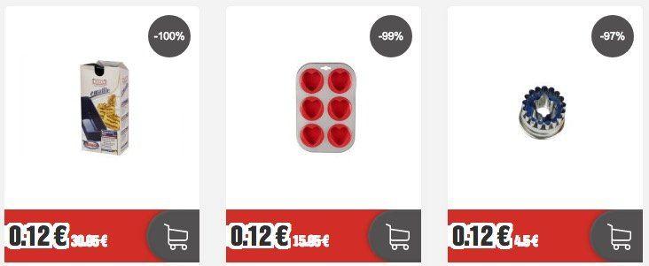 Restposten Sale bei Top12.de   z.B. WMF Zwetschgenentsteiner für 0,12€ (statt 14€)