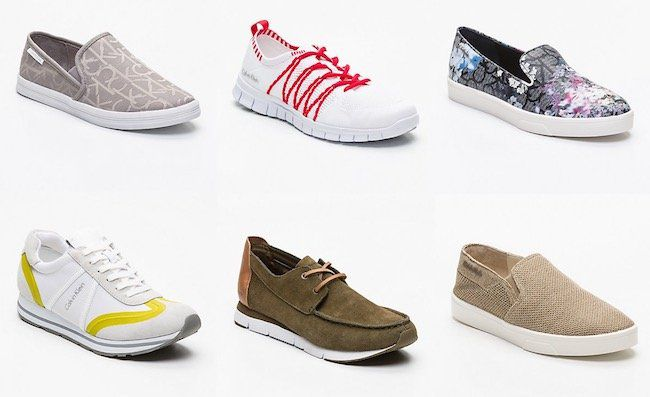 Großer Calvin Klein Schuh Sale bei vente privee   z.B. Calvin Klein Slipper Ilaina für 59,90€ (statt 107€)
