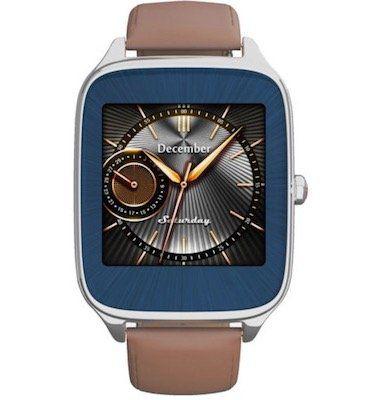 Asus Zenwatch 2 Smartwatch mit Lederarmband für 80,99€ (statt 154€)