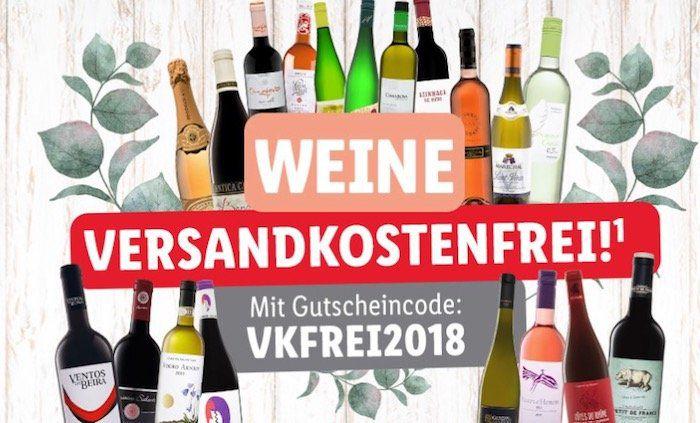 LIDL Weine & Spirituosen VSK frei ab 30€