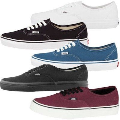 VANS Authentic Classics   ultra leichte Sneaker für 42,50€ (statt 52€)