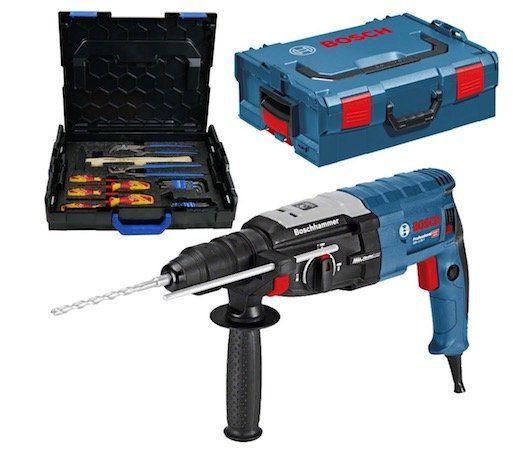 Bosch Professional SDS plus GBH 2 28 F Bohrhammer + Gedore Boxx + L Boxx für 191,21€ (statt 233€)