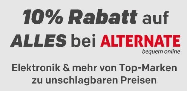10% Rabatt im Alternate Shop bei Rakuten   z.B. Siemens WT44W5V9 Wärmepumpentrockner für 571,45€ (statt 636€)