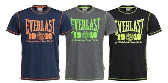 Everlast T Shirts mit großem Logo für je 7,28€   nur S, M und L