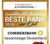 Kostenloses Girokonto der Commerzbank + 100€ Startguthaben geschenkt + bis 100€ bei Weiterempfehlung