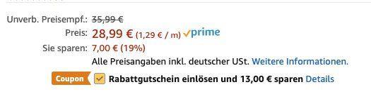 Vorbei! Flexibler Gartenschlauch (22,5m) mit 8 Modi Handbrause für 15,99€ (statt 29€)   Prime