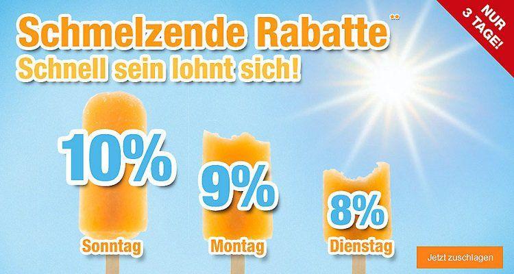 9% Rabatt auf fast alles bei Plus.de z.B. Scheppach HCE2400 Hochdruckreiniger für 125,99€ (statt 149€)
