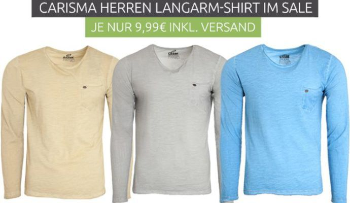 Carisma Herren Langarm Shirts für je 9,99€