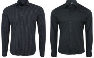 Just Cavalli Herren Langarm Hemden ab 27,99€