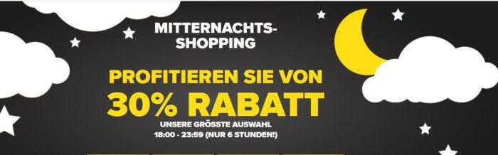Crocs Late Night Sale mit 30% Rabatt auf ausgewählte Schuhe im Online Shop bis Mitternacht + VSK frei
