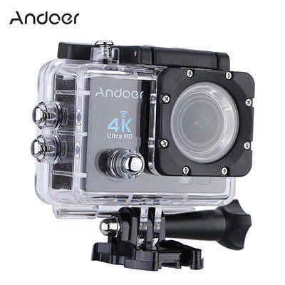 Andoer Q3H ActionCam (170° Weitwinkel, 4K 25FPS, 1080P 60FPS, Wifi) inkl. Zubehör für 35,56€ (statt 60€)