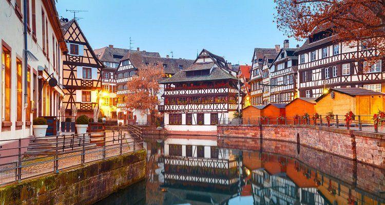1   3 ÜN im 3* Hotel im Elsass inkl. Frühstück & 2 Flaschen Wein ab 49€ p.P.