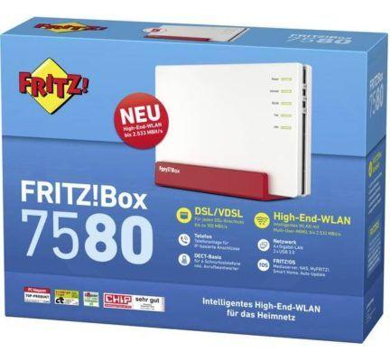 AVM FRITZ!Box 7580 für 166,99€ (statt 209€)