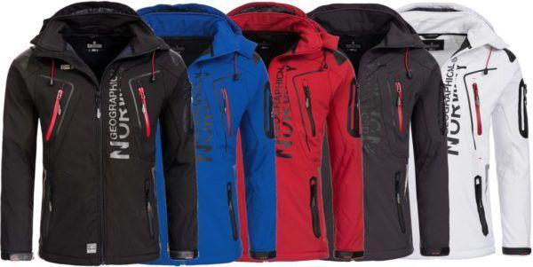 Geographical Norway TACO/TISLAND   Softshell Jacke für Herren u. Damen ab 49,41€ (statt 59€)