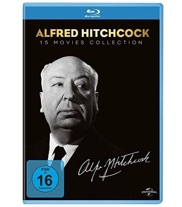 Alfred Hitchcock Collection (15 Blu rays) für 33,69€