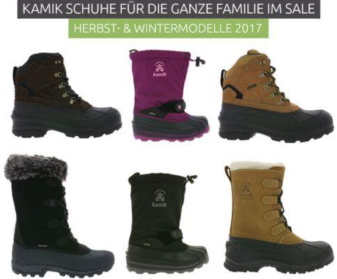 KAMIK Boots & Stiefel für die ganze Familie ab 39,99€