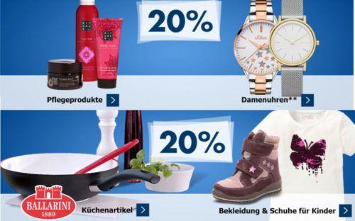 Karstadt Kracher mit z.B. 25% Rabatt auf HASBRO (Monopoly) Spielzeug, 20 % auf Damenuhren, Ballarini, uvam.