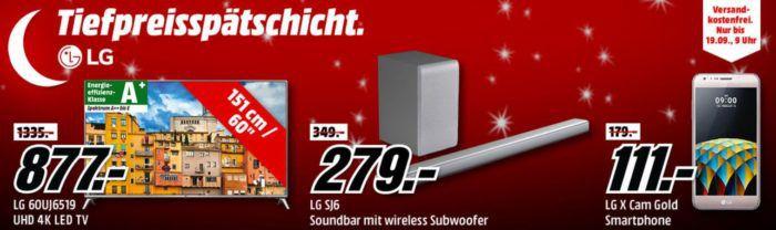 Media Markt LG Tiefpreisspätschicht   günstige Fernseher, Technik Zubehör und Großgeräte TOP!