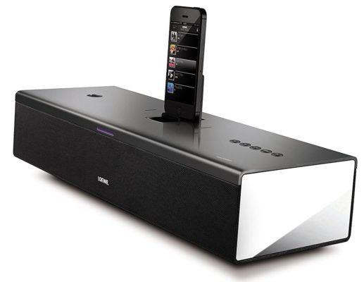 Loewe SoundPort Compact   2.1 Bluetooth Docking Station mit Lightning Dock für 159€ (statt 256€)