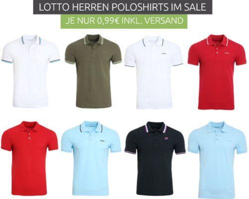 Lotto Brodsy Herren Poloshirts ab je nur 0,99€