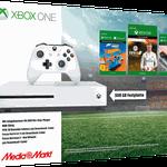 Xbox One S 500 GB + Forza Horizon 3 Hot Wheels + Fifa 18 Ronaldo Edition für 229€