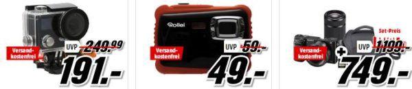 Media Markt Knallhart reduziert: günstige Kameras und Zubehör