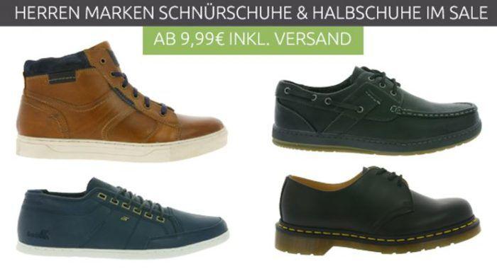 Herren Marken Schuh Sale Outlet 46   Restgrößen ab 7,99€
