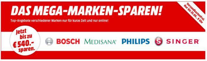 Media Markt Mega Marken Sparen: günstiges für Haushalt, Garten, Heimwerker, Körperflege und Hobby