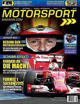"""1 Ausgabe """"Motorsport Magazin"""" gratis – endet automatisch"""