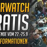 Overwatch (PC, PS4, Xbox One) gratis spielbar vom 22. bis 25. September