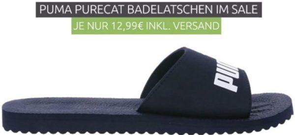PUMA Purecat Herren Badelatschen für 12,99€