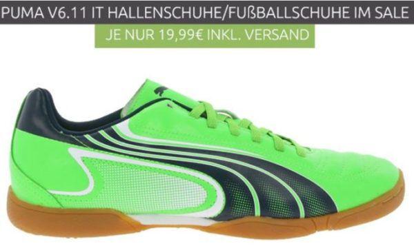 PUMA V6.11 IT Herren Hallenschuhe für 19,99€ (statt 35€)