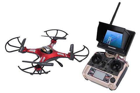 JJRC H8D   RTF Quadrocopter mit Headless Mode, 2MP Kamera, One Key Return & mehr für 49,84€