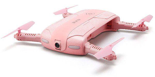 JJRC H37 ELFIE in Pink   Selfie Drohne mit Gravity Sense Control, Headless Mode, One Key für 18,91€