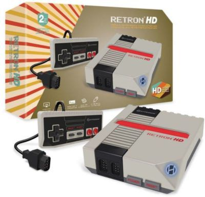RetroN 1 HD Konsole   spielt Nintendo NES Classic Spiele für 49,99€