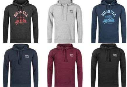 Russel Athletic Herren Hoodies für je 16,99€