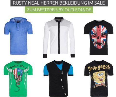Rusty Neal über 300 Herren T Shirts  mit und ohne Motiv ab 7,99€