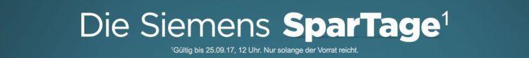 Siemens Spartage bei AO.de + keine VSK   z.B. Siemens iQ500 WM14T320 für 399€ (statt 445€) + 30€ Cashback